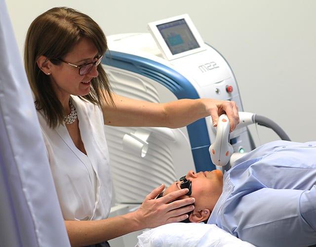 second skin dermatolgy - lumenis m22 laser system